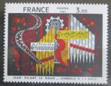 Poštovní známka Francie 1980 Umění, Jean Picart Le Doux Mi# 2220