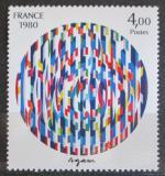 Poštovní známka Francie 1980 Umění, Yaacov Agam Mi# 2222