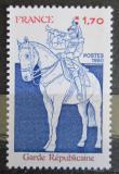 Poštovní známka Francie 1980 Gardista na koni Mi# 2230