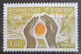 Poštovní známka Francie 1978 Program na šetření energiemi Mi# 2096