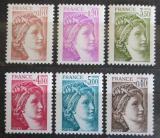 Poštovní známky Francie 1981 Sabinka Mi# 2235-40 Kat 6.50€