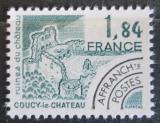 Poštovní známka Francie 1981 Ruiny hradu, Coucy-le-Chateau Mi# 2243