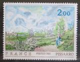 Poštovní známka Francie 1981 Umění, Camille Pissarro Mi# 2258