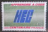 Poštovní známka Francie 1981 HEC, 100. výročí Mi# 2271