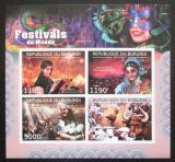 Poštovní známky Burundi 2012 Světové festivaly neperf. Mi# 2710-13 B