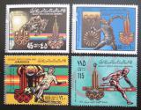 Poštovní známky Libye 1979 LOH Moskva Mi# 767-70 I A