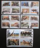 Poštovní známky Manáma 1971 Fauna Mi# 514-33