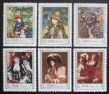 Poštovní známky Manáma 1967 Umění, Renoir a Terbrugghen Mi# 56-61