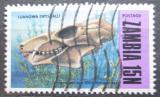 Poštovní známka Zambie 1973 Fosílie Mi# 100