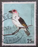 Poštovní známka Zambie 1977 Vousák Chaplinův Mi# 185