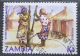 Poštovní známka Zambie 1983 Domorodkyně Mi# 262