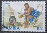 Poštovní známka Zambie 1981 Domorodkyně Mi# 263