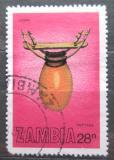 Poštovní známka Zambie 1981 Hudební nástroj Ilimba Mi# 266