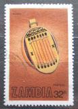 Poštovní známka Zambie 1981 Hudební nástroj Bango Mi# 267