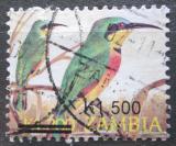 Poštovní známka Zambie 2007 Vlha modrolící přetisk Mi# 1588