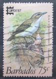 Poštovní známka Barbados 1987 Zeleňáček vousatý Mi# 677 Kat 3.60€