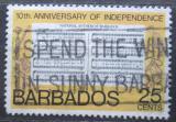 Poštovní známka Barbados 1976 Státní hymna Mi# 415