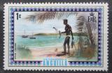 Poštovní známka Anguilla 1972 Tradiční rybolov Mi# 145