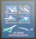 Poštovní známky SAR 2013 Nadzvukové letouny Mi# 4361-64 16€