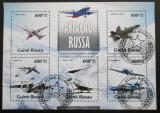 Poštovní známka Guinea-Bissau 2013 Ruská letadla Mi# 6724-28 Kat 12€