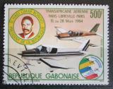 Poštovní známka Gabon 1984 Letadla Mi# 897