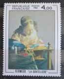 Poštovní známka Francie 1982 Umění, Jan Vermeer Mi# 2350