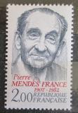Poštovní známka Francie 1983 Pierre Mendes-France, politik Mi# 2423