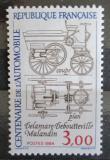 Poštovní známka Francie 1984 Automobilový průmysl, 100. výročí Mi# 2468