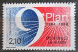 Poštovní známka Francie 1984 Pětiletý plán modernizace Mi# 2475