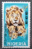 Poštovní známka Nigérie 1965 Lvi Mi# 175