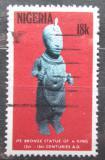 Poštovní známka Nigérie 1978 Bronzová socha Mi# 352