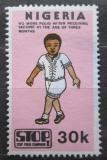 Poštovní známka Nigérie 1984 Boj proti dětské obrně Mi# 430