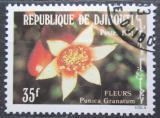 Poštovní známka Džibutsko 1981 Granátovník obecný Mi# 323