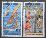 Poštovní známky Džibutsko 1983 LOH Los Angeles Mi# 361-62
