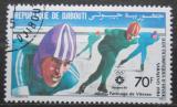 Poštovní známka Džibutsko 1984 ZOH Sarajevo, rychlobruslení Mi# 392