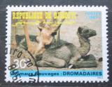 Poštovní známka Džibutsko 1987 Dromedár Mi# 492