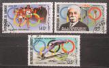 Poštovní známky Džibutsko 1987 Olympijské hry Mi# 495-97