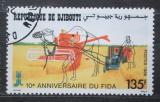 Poštovní známka Džibutsko 1988 Tradiční zemědělství Mi# 513