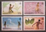 Poštovní známky Kiribati 1985 Legendy Mi# 464-67