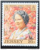 Poštovní známka Jersey, Velká Británie 1975 Královna Matka Mi# 118