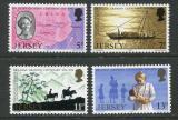 Poštovní známky Jersey, Velká Británie 1976 Lilian Mary Grandin Mi# 153-56