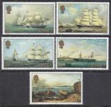 Poštovní známky Jersey, Velká Británie 1985 Umění, Philip John Ouless Mi# 342-46