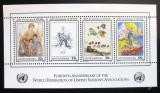 Poštovní známky OSN New York 1986 Umění Mi# Block 9