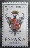 Poštovní známka Španělsko 1966 Znak Toledo Mi# 1591