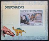 Poštovní známka Mosambik 2007 Dinosauři DELUXE neperf. Mi# 2970 B Block