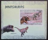 Poštovní známka Mosambik 2007 Dinosauři DELUXE neperf. Mi# 2971 B Block