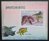 Poštovní známka Mosambik 2007 Dinosauři DELUXE neperf. Mi# 2975 B Block