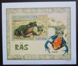 Poštovní známka Mosambik 2007 Žáby DELUXE neperf. Mi# 2957 B Block