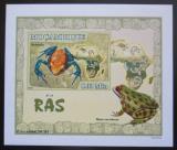 Poštovní známka Mosambik 2007 Žáby DELUXE neperf. Mi# 2958 B Block