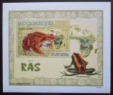 Poštovní známka Mosambik 2007 Žáby DELUXE neperf. Mi# 2960 B Block